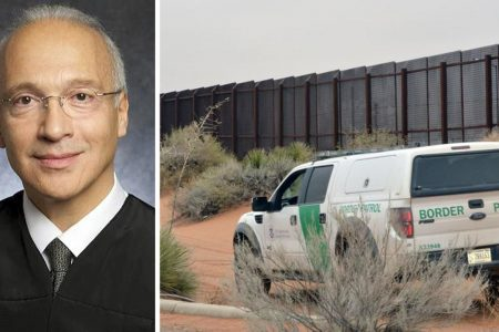 Judge's pointed questions leave murky the future of Trump's border wall plan