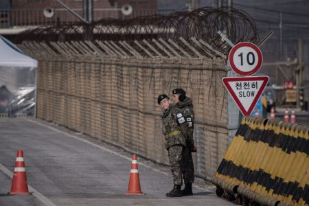 At the DMZ, Korean reunification seems an impossible task for these 'Peace Olympics'