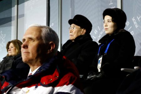 Pence was set to meet with North Korean officials during the Olympics before last minute cancellation