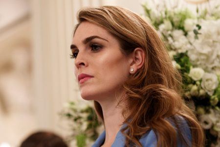 Hope Hicks answers some House investigators' questions about the Trump transition, but not the administration