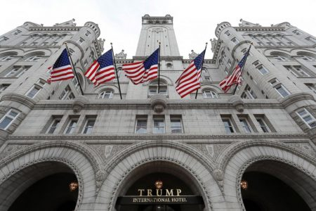 Trump Org. donates foreign profits but won't say how much