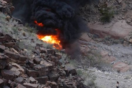 Three reported dead after helicopter crashes at Grand Canyon