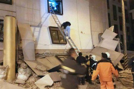 Powerful earthquake strikes off Taiwan's east coast