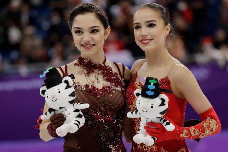 Russia's Alina Zagitova, Evgenia Medvedeva go 1-2 in women's figure skating