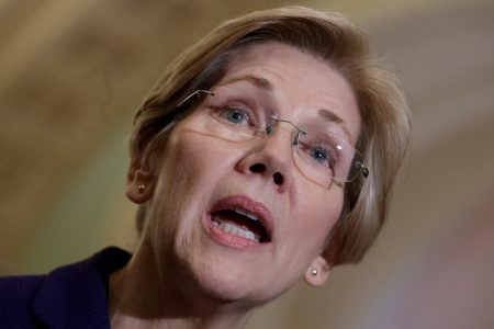 Elizabeth Warren makes a bold statement about Trump and 'Pocahontas' — and 2020, too, it seems