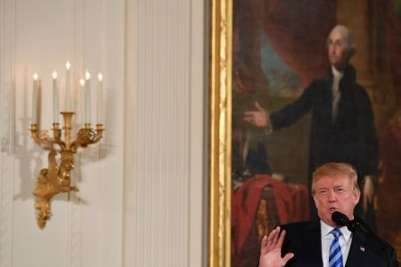 Trump, citing 'evil massacre' in Florida, starts talking about gun control