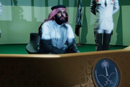 A Glimpse of a Crown Prince's Dream? Saudi Arabia Invades Iran in CGI