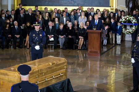 Rev. Billy Graham Lies in Honor at US Capitol for Day of Remembrance
