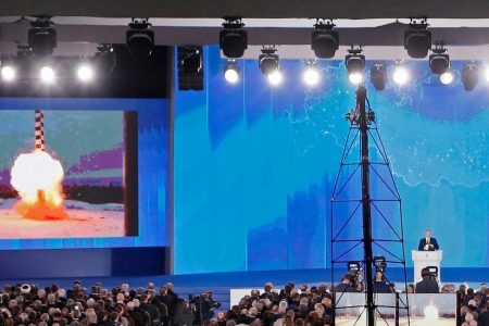 Putin Says New 'Invincible' Missile Can Pierce US and European Defenses