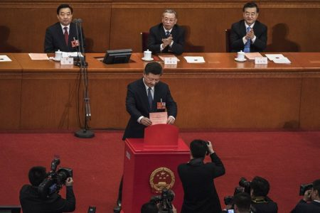 China's Xi Wins Constitutional Backing for New Strongman Era