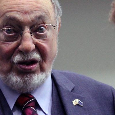 Senior House member, Alaska's Don Young, suggests more guns might have saved lives in Holocaust