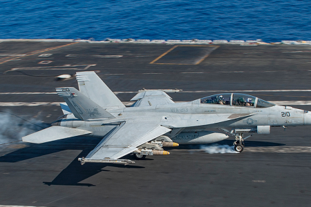 Navy F/A-18 jet crashes off Key West, official says