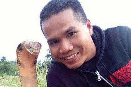"Report: Malaysia's ""Snake whisperer"" dies after cobra bite"