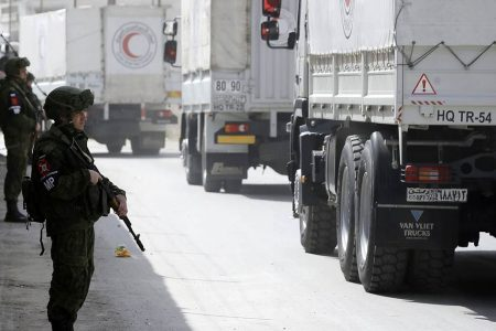 Medical supplies bound for eastern Ghouta seized by Syrian officials