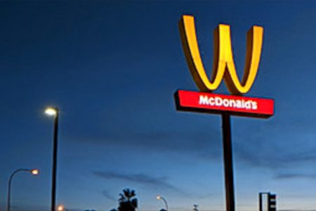Why McDonald's is flipping its arches for a day