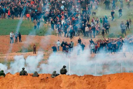 Gaza protests: 12 Palestinians killed in confrontations with Israeli forces