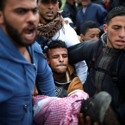 At least 10 Gazans dead after Israeli army, Palestinians clash at border fence, officials say