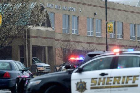 Maryland School Gunman Confronted by Officer Shot Himself, Authorities Say