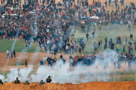 Israeli Military Kills 15 Palestinians in Confrontations on Gaza Border