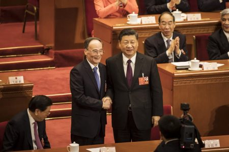 China's Xi gets right-hand man, loyal 'firefighter,' elected vice president