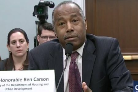 Ben Carson throws his wife under the bus for purchase of $31000 dining set
