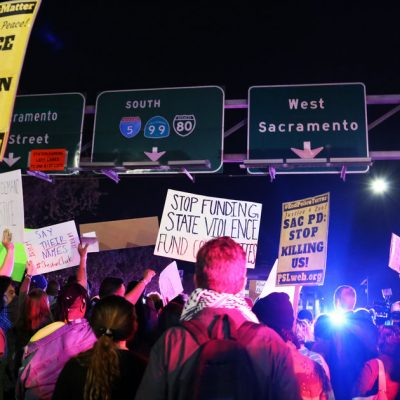 Sacramento Erupts In Protest After Stephon Clark Autopsy Report
