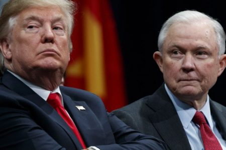 Sessions silent no longer in face of Trump's wrath