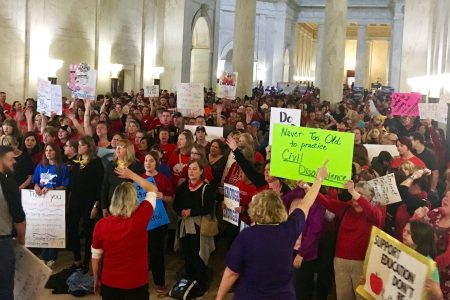 No fix in sight as West Virginia teacher strike enters third week