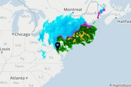 Airlines cancel 2000 flights as nor'easter snarls travel