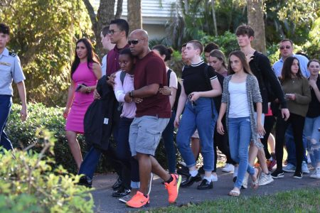 Florida students say hero teacher was really a 'coward' who left them to die