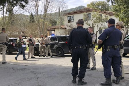Gunman opens fire, takes hostages at California veterans home