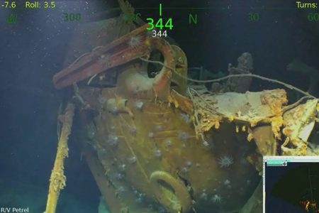 Infamous USS Juneau that sank during WWII with five Sullivan brothers aboard discovered in Pacific