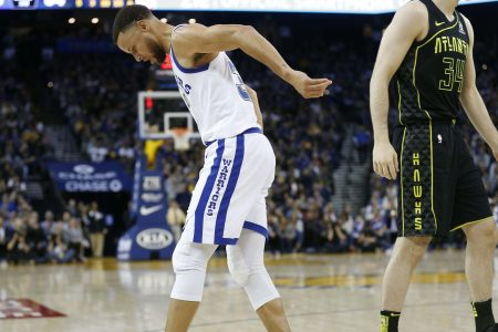 Steph Curry's injury frustrations continue in Golden State Warriors return