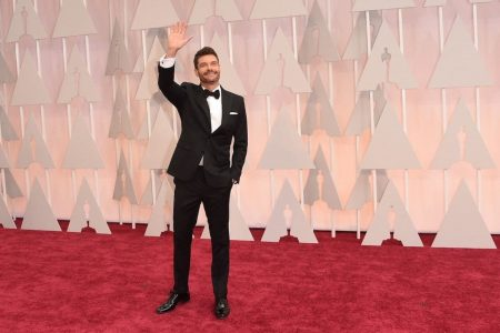 Ryan Seacrest's Oscars red carpet pretended that sexual harassment doesn't exist