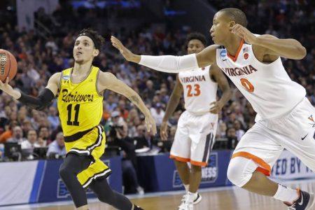 No. 16 UMBC Shocks No. 1 Virginia in Historic NCAA Tournament Upset