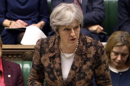 Theresa May: 'Highly likely' Russia responsible for spy's poisoning by nerve agent