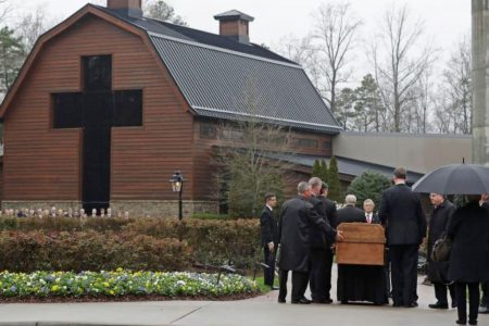 Trump, Pence and many evangelical leaders mourn Billy Graham at his funeral