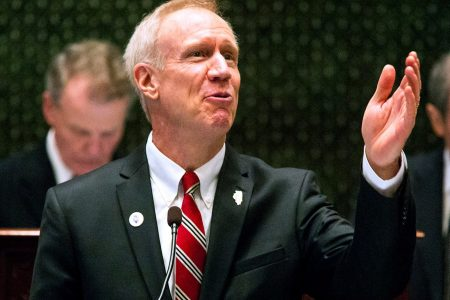 Illinois primary: Democratic congressman, GOP governor fend off ideological challengers