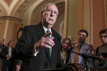 Mitch McConnell renews push to legalize industrial hemp