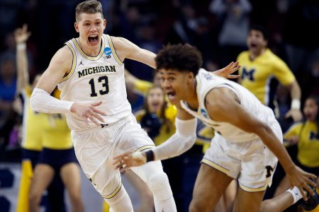 Poole's buzzer-beater sends Michigan past Houston 64-63