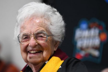 Sister Jean holds a Final Four news conference and it's 'like Tom Brady at the Super Bowl'