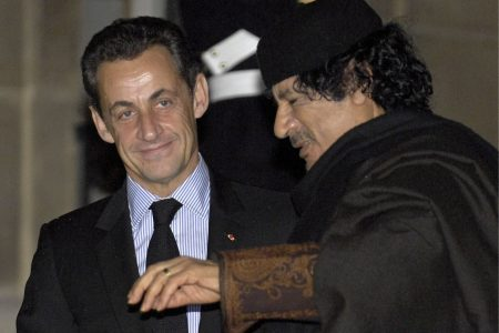 France's Sarkozy detained over allegations of bribery by Libya