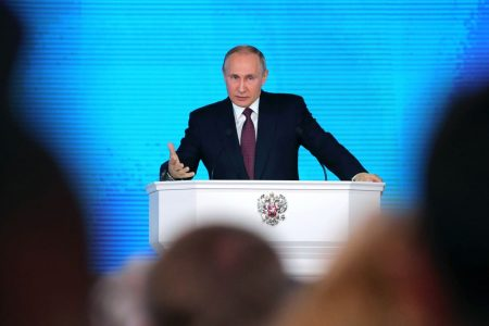 Putin claims Russia has nuclear arsenal capable of avoiding missile defenses