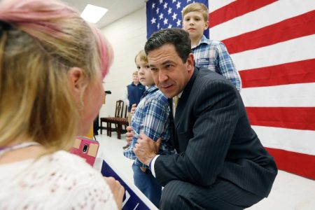 Insurgent conservative Chris McDaniel switches races in Mississippi