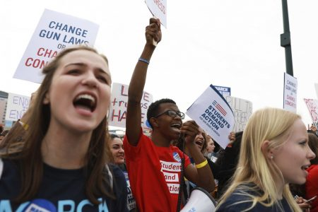 After March for Our Lives, students and senators take aim at NRA