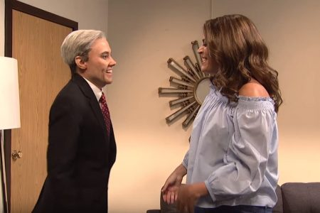 SNL's disastrous 'Bachelor' finale stars Robert Mueller, who can't commit to collusion