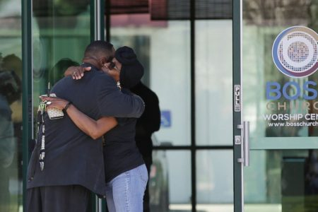 Anger, frustration at wake for unarmed man killed by police