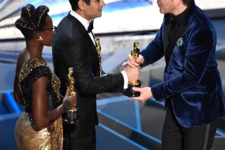 Peele, Del Toro, Oldman win at an Oscars full of change