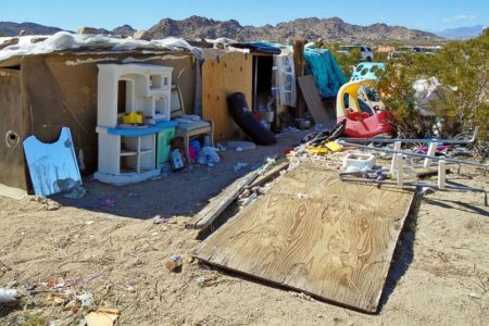 Authorities: California family lived in filthy desert hovel