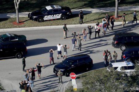 Florida school shooting response caught on radio traffic
